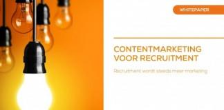 Whitepaper Content Marketing voor Recruitment