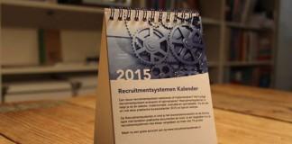 Gratis bureaukalender Recruitmentsystemen 2015