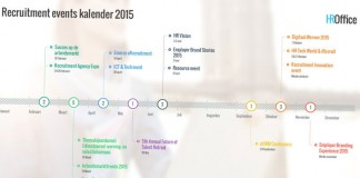 De recruitment events kalender voor 2015