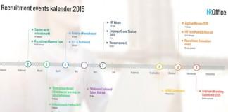 De recruitment events kalender voor 2015