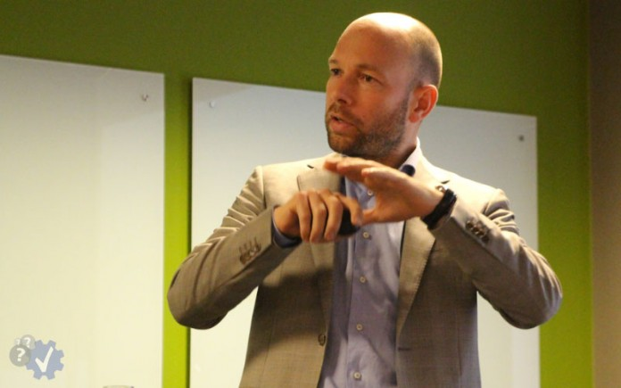 Barend Raaff, oprichter en CEO van Harver
