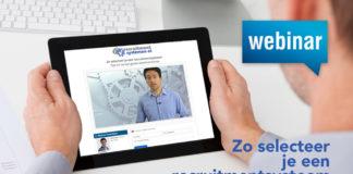 Webinar Zo selecteer je een recruitmentsysteem